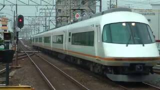 近鉄 21000系アーバンライナーplusの6両編成走行シーン集