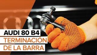 Montaje Kit De Reparación Pinza De Frenos AUDI 80 (8C, B4): vídeo gratis
