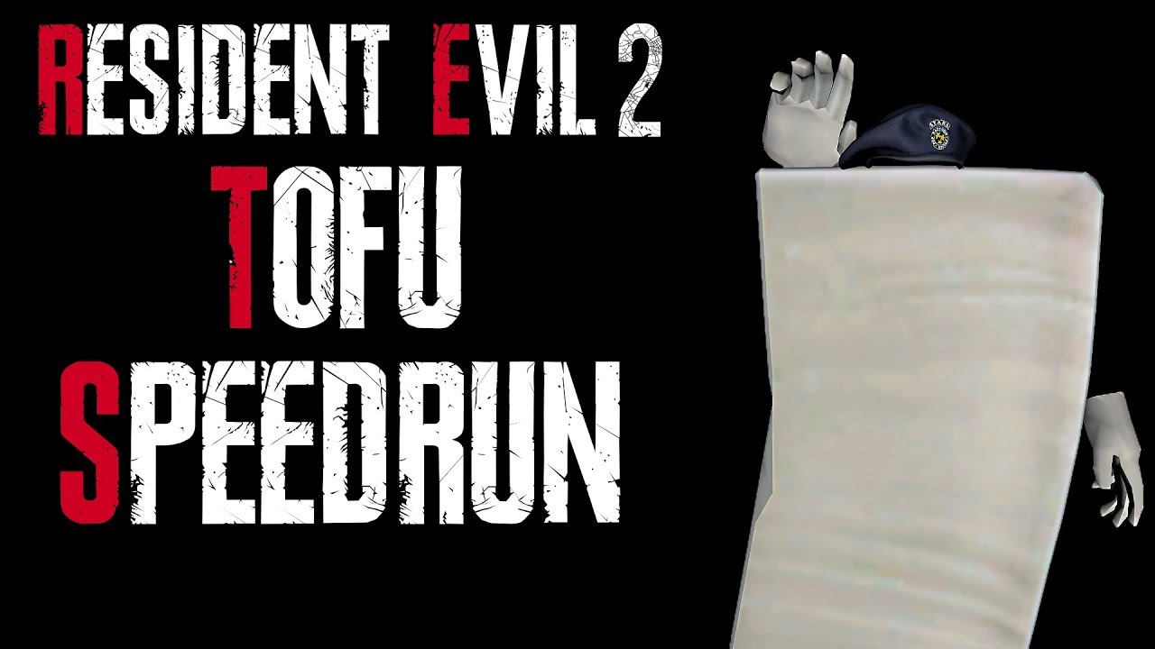 Tofu Survivor Mode In Resident Evil 2 Is As Hard As It Is
