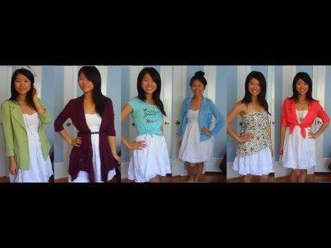 Style: 6 Ways To Wear A White Dress