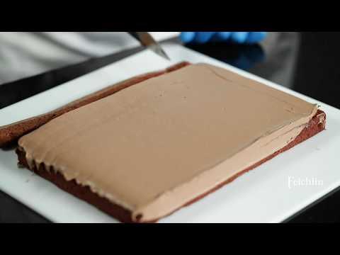 Felchlin - OSA-fyllningar tillsammans med bakad brownie, Cappuccion F