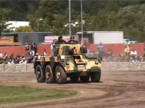 Alvis Saracen + Saladin and Stalwart Bovington Tankfest 2008