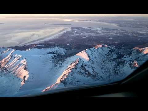 Best Flight EVER into Anchorage
