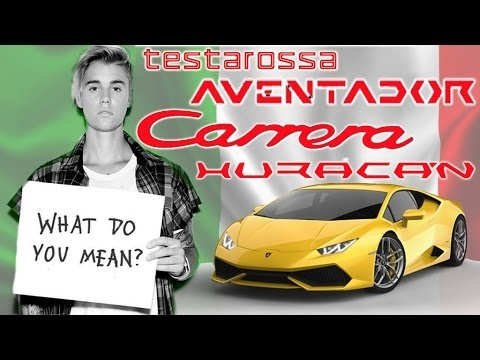Meaning Behind Supercar Names Part Youtube