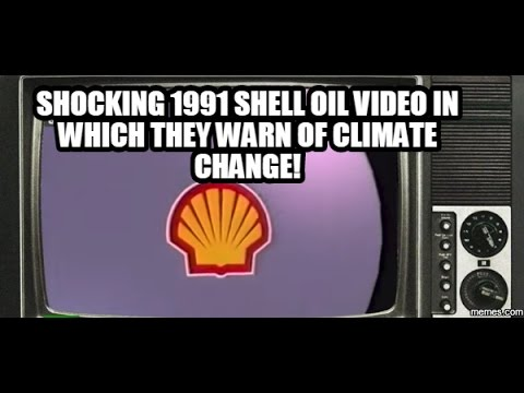 SHOCKING FOOTAGE: Shell Oil Made Climate Change Video 25 Years Ago! [WATCH]