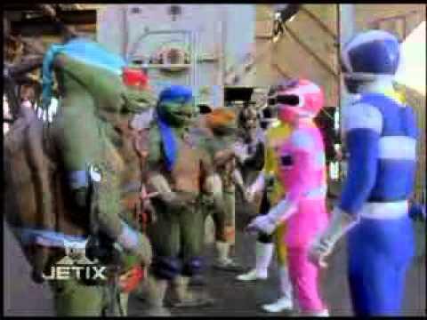 Power Rangers In Space Shell Shocked Meet The Teenage