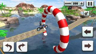 Bike Stunt Games 2018 Impossible Tracks - Gameplay Android game - stunt bike games