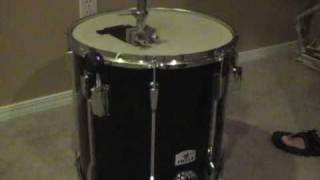 How-to-make 16X16 floor tom/mini bass drum! (DIY)hipgig kit!