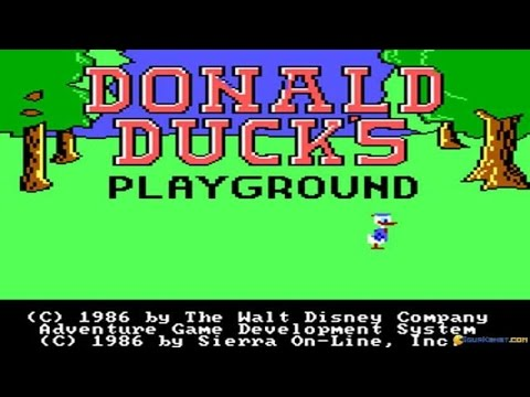 Donald Duck´s Playground gameplay (PC Game, 1986) thumbnail