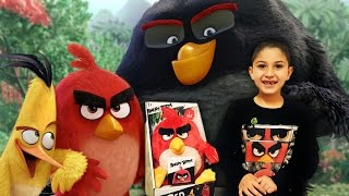 Angry Birds Movie Review   Talking Red Bird Plush