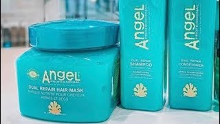 Влог мой уход за волосами Angel Готовим болтаем