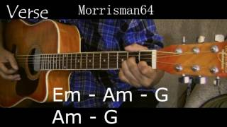 NEIL DIAMOND SOLITARY MAN   Guitar Lesson with Chords
