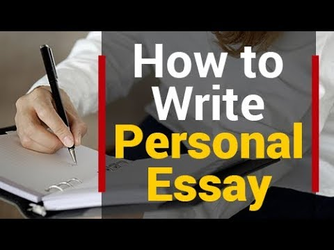 How To Write PERSONAL ESSAY | Personal Narrative Essay | Step by Step Explanation | Tips and Tricks
