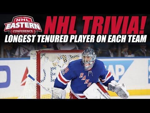 NHL Trivia! - Longest Tenured Player on Each NHL Team (East)