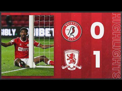 Bristol City Middlesbrough Goals And Highlights