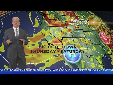 Garth Kemp's Weather Forecast (May 23)