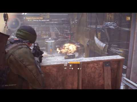 The Division Walkthrough Part 7 Napalm Production and Broadway Emporium