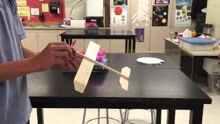 How To Wind A Balsa Wood Rubber Band Powered Airplane