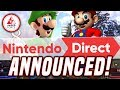 NEW Nintendo Direct Announced FINALLY... COMING THIS WEEK! February Direct