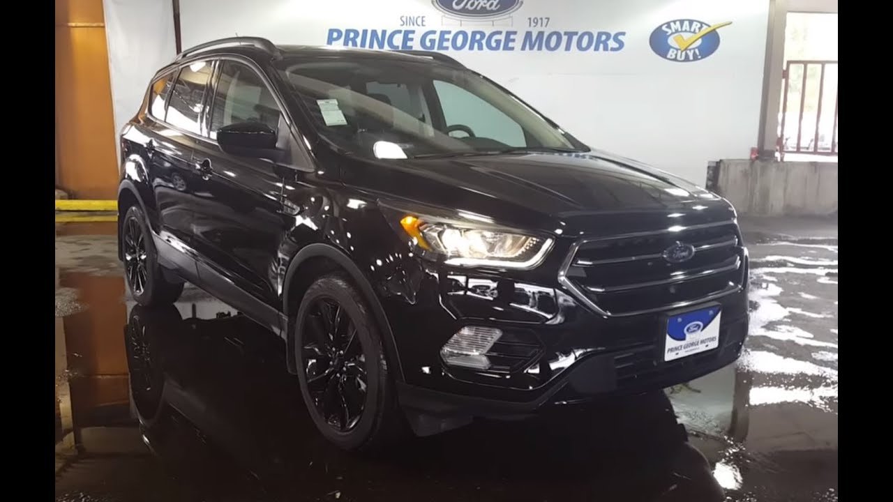 2017 ford escape 4wd 4dr se 4 door sport utility youtube. Black Bedroom Furniture Sets. Home Design Ideas