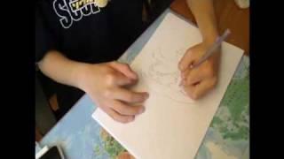 drawing miku hatsune( vocaloid ) PART 1