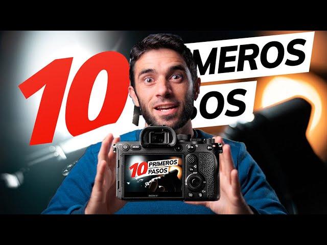 10 PRIMEROS PASOS para EMPEZAR en FOTOGRAFÍA