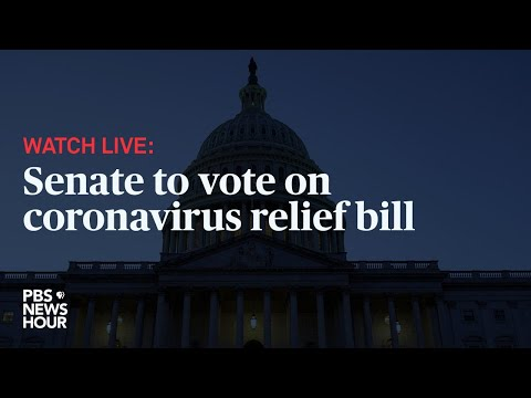 WATCH LIVE: Senate to vote on coronavirus relief bill - March 25, 2020