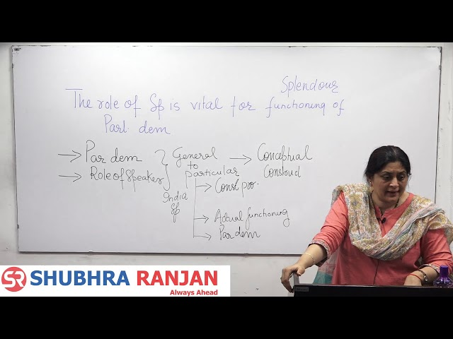 Preparatory Test Discussion by Shubhra Ranjan - GS Mains Test Series 2020