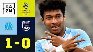 OM-Arbeitssieg im Geisterspiel: Olympique Marseille - Bordeaux 1:0 | Ligue 1 | DAZN Highlights