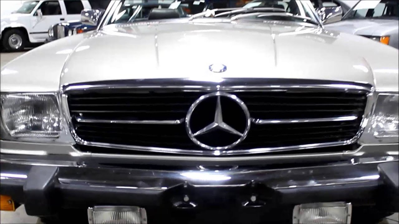 1980 mercedes benz 450 sl youtube. Black Bedroom Furniture Sets. Home Design Ideas