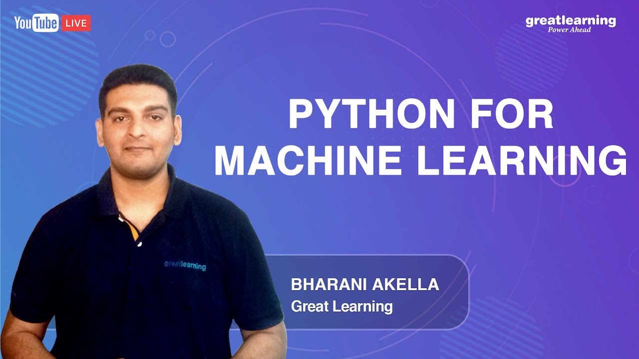 Python for Machine Learning | Python for Beginners | Learn Python