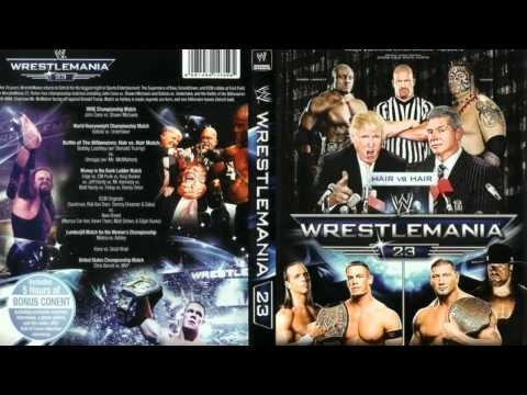 WWE Wrestlemania 23 Theme Song Full+HD