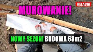 Jak murować? Murowanie ścian. Budowa domu krok po kroku. cz.7