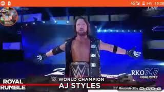 มวยปลํ้า John Cena VS. AJ Styles. ชิงแชป์WWE