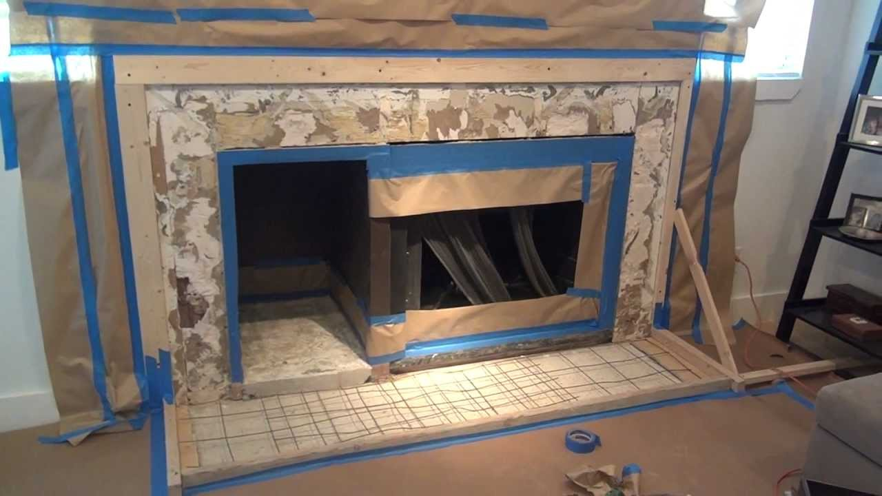 How to make a concrete fireplace surround six simple steps youtube solutioingenieria Image collections