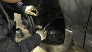 Замена рулевого наконечника LandRover Freelander 2 своими руками