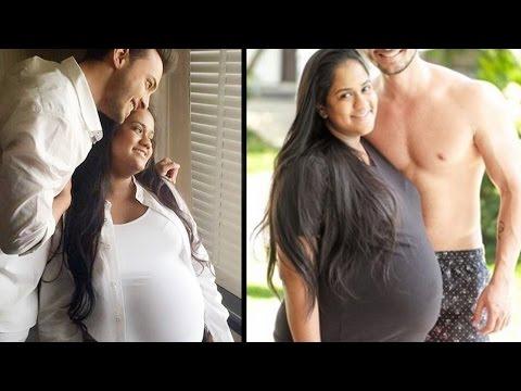 Salman Khan's sister Arpita Khan Sharma's PREGNANCY Photoshoot with husband Ayush Sharma Mp3