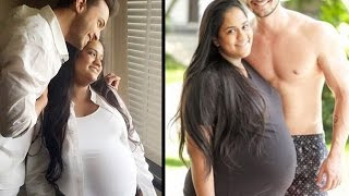 Salman Khan's sister Arpita Khan Sharma's PREGNANCY Photoshoot with husband Ayush Sharma