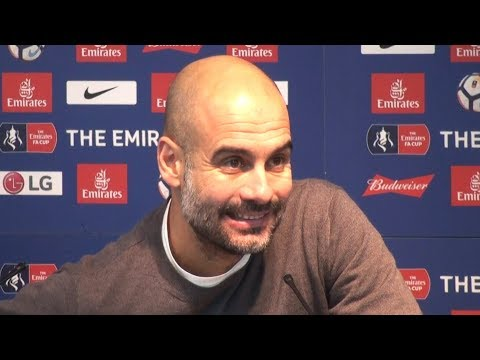 Manchester City 4-1 Burnley - Pep Guardiola Full Post Match Press Conference - FA Cup