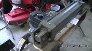 Homemade Log Splitter Build Part 11