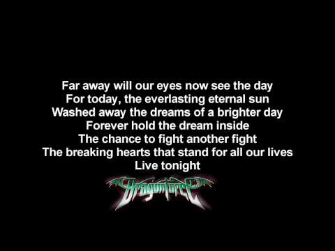 DragonForce - Operation Ground And Pound | Long version | Lyrics on screen | HD