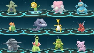 EVOLUTION POKÉMON GO GEN 2 AMAZING - TOP 12 RARE POKÉMON EVOLVING