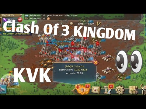 Lords Mobile October Super Clash Of Three Kingdoms | Lords Mobile October Kvk 2019 Part 1