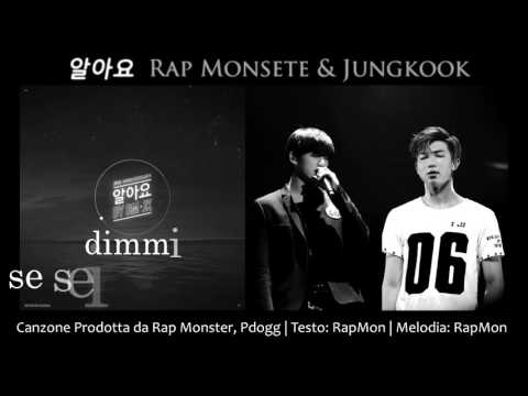 [SUB ITA] Rap Monster & Jungkook - 알아요 (I Know)