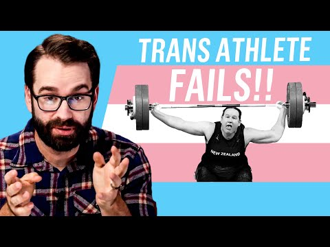 Trans Athlete FAILS During Olympic Event