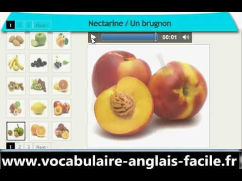 vocabulaire anglais les fruits vocabulaire anglais facile youtube. Black Bedroom Furniture Sets. Home Design Ideas