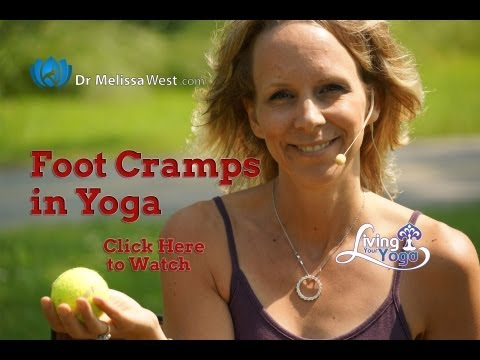 How to relieve the pain from Foot Cramping in Yoga Poses