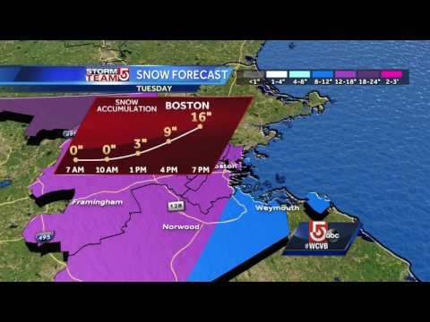 Storm timeline: When worst of snow moves in