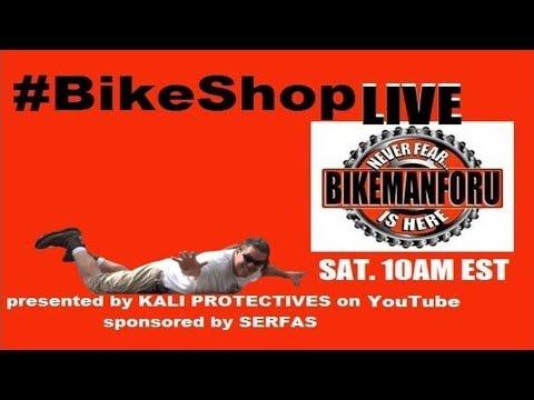 """Bike Shop LIVE """"Life is an adventure or.."""" S5E33 BikemanforU Show 08-19-17"""