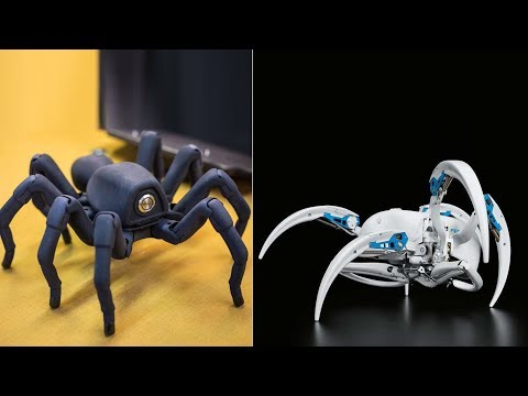 4 Amazing Spider Robots You Must Wish To Have